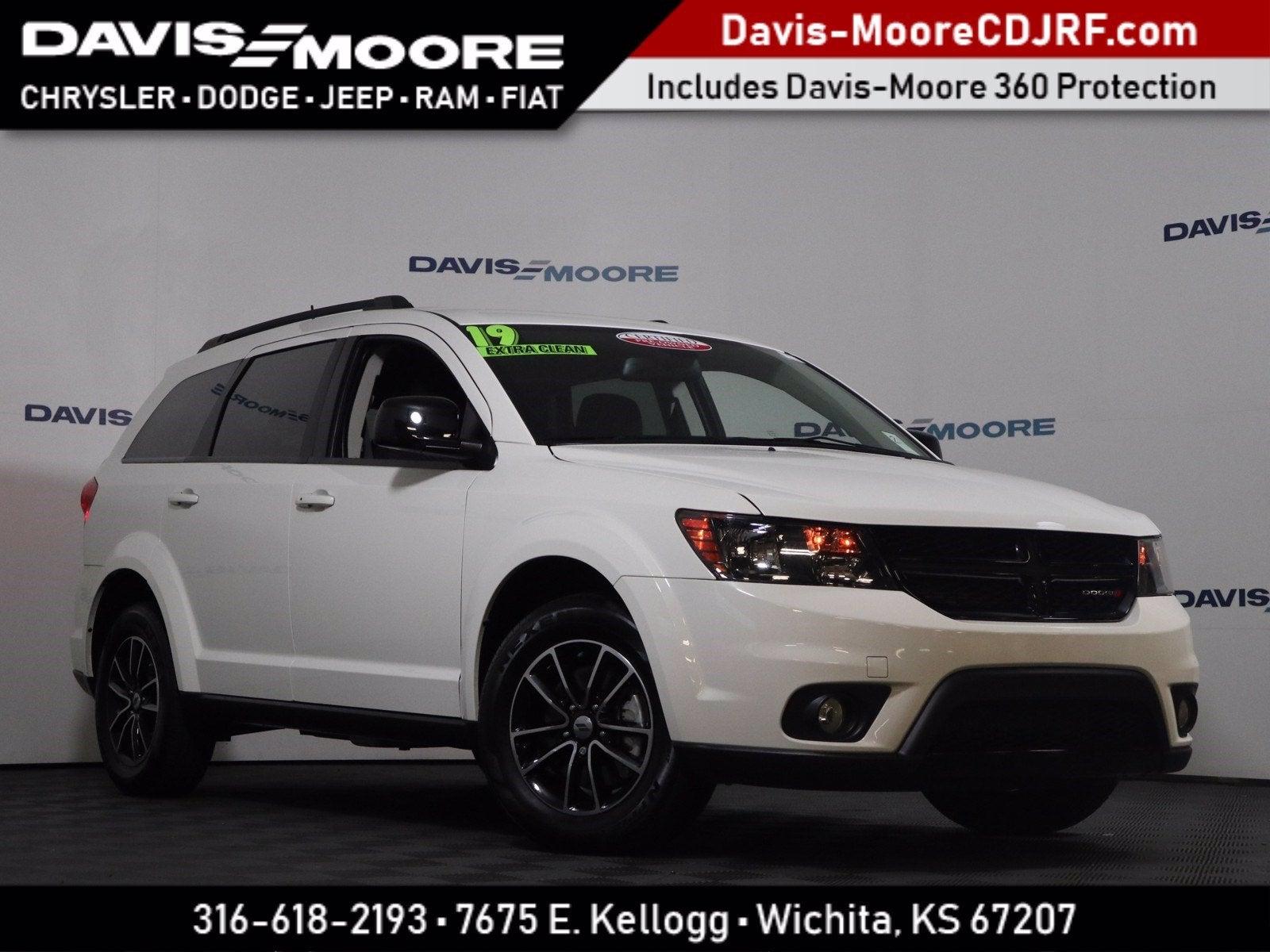 Davis Moore Dodge >> 2019 Dodge Journey Se Blacktop Wichita Ks Hillsboro Braman Pratt
